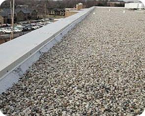 Grind op plat dak of niet